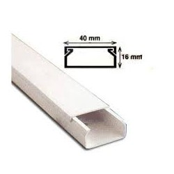 CANAL CABLU PVC 40X16