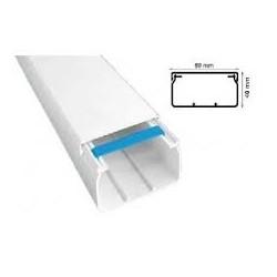 CANAL CABLU PVC 80X40